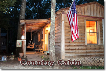 Davy Crockett Campground - Country Cabin